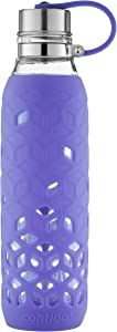 Contigo Purity Glass Water Bottle, 20 oz