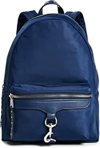 Rebecca Minkoff Women's Always On MAB Backpack, True Navy, Blue, One Size