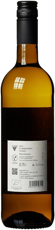 Weingut Huster Chardonnay QbA Bio (6 x 0.75 l): Amazon.de: Bier ...