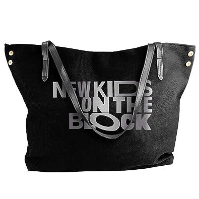 2ce233296f New Kids On The Block Platinum Logo Handbag Shoulder Bag For Women   Handbags  Amazon.com