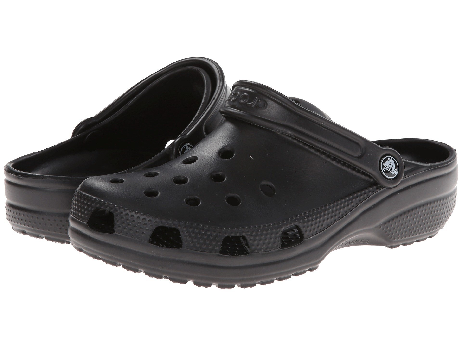 Crocs Unisex Classic Clog, Black, 8 US Men/10 US Women