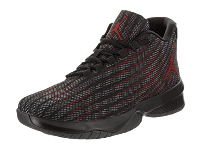 separation shoes 3f692 3feab Jordan Mens B. Fly Basketball Shoes Black Gym RED Dark Grey Size 9