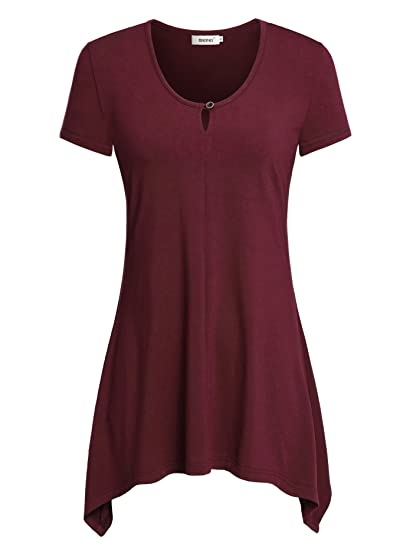 dc05a182ef754 BEPEI Plus Size Tunics to wear with Leggings