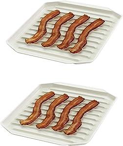 "Nordicware Freeze Heat & Serve Bacon Rack 9-3/4"" X 8"" - 2 PACK"