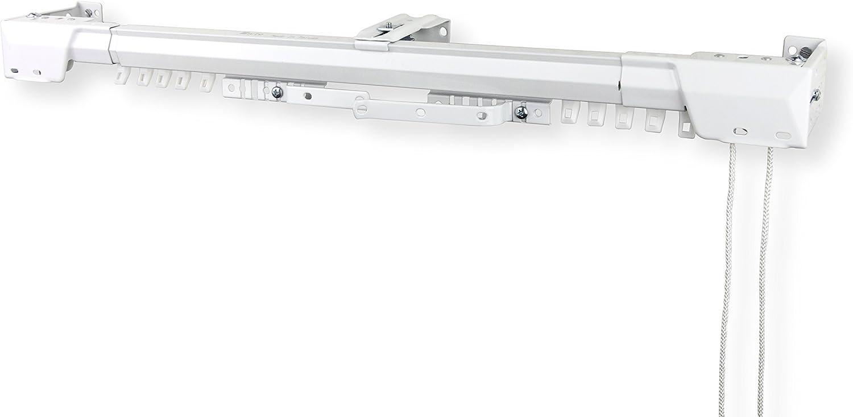 Rod Desyne Heavy Duty Adjustable Traverse Rod, 48 x 84