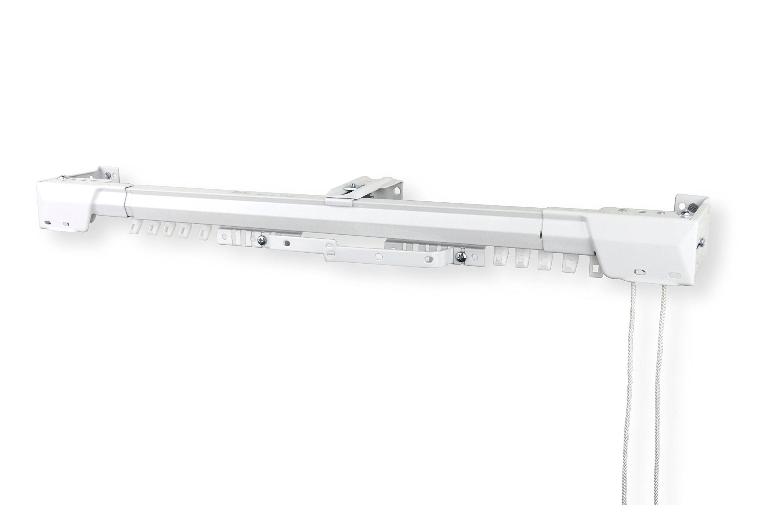 Rod Desyne Heavy Duty Adjustable Traverse Rod 84 x 156