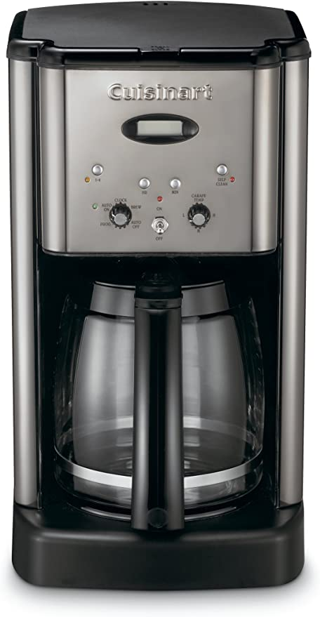 Cuisinart DCC-1200 Brew central 12-cup cafetera programable Black ...