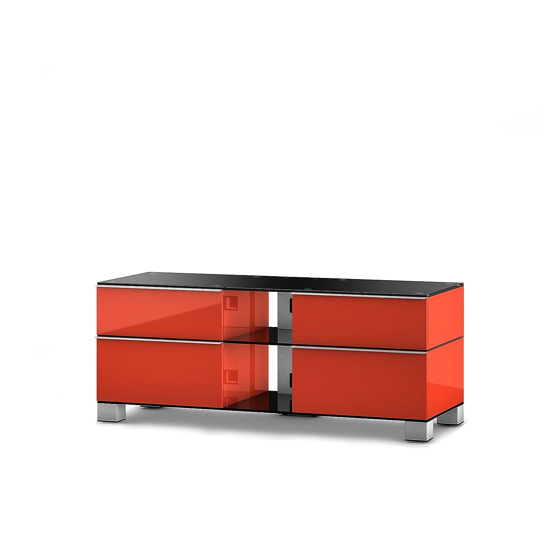 Sonorous MD 9220-B-INX-RED TV-Möbel für 50
