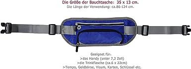 Faletony Unisex Bauchtasche Schwarz//Grau//Blau//Pink Outdoor Sport Trinkflasche G/ürteltasche H/üfttasche Joggen Flach Tasche f/ür Damen Herren