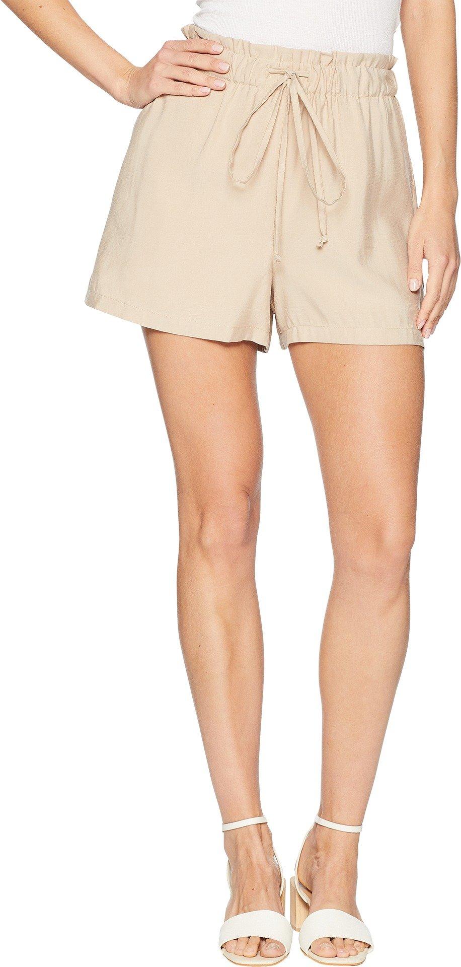 BCBGeneration Women's Paper Bag Short, Sand, XS