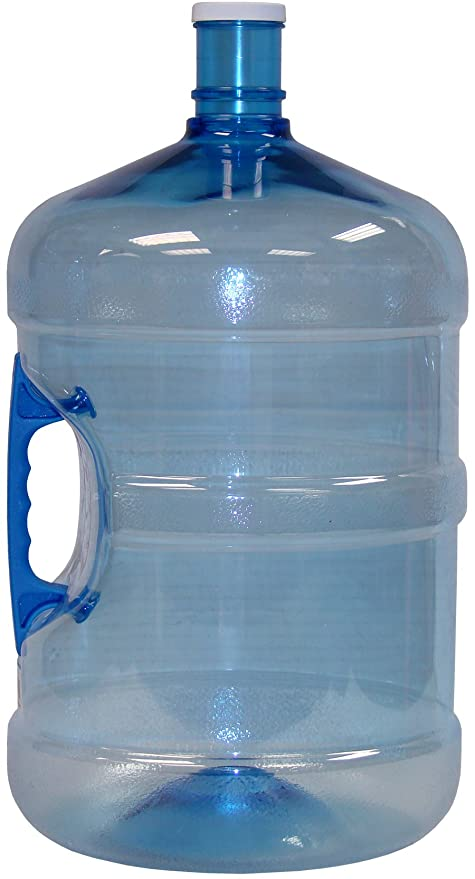 8c38b317b7 Amazon.com: American Made P-00960 Water Bottle, 5-Gallon, Blue: Kitchen &  Dining