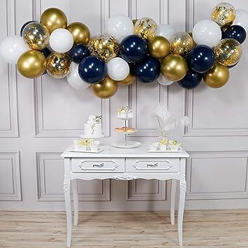 10x Baby Shower Latex Luftballons Ballons Riesenballon Deko Blau
