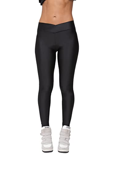 Joy Bridalc Yukata Women s Stretch Skinny Shiny Spandex Yoga Leggings  Workout Sports Pants ccf986daa8e6