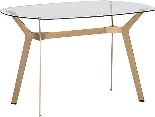 Studio Designs Home Archtech Modern Glass Desk/Dining Table