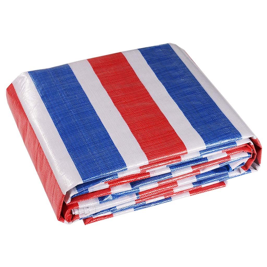 FANJIANI Regendichtes Tuch Dickes Farbband Wasserdichtes Tuch Poncho Plastisches Tuch Linoleum Plane Baldachin Blaumen Tuch Schatten Tuch Sonnenschutz Tuch
