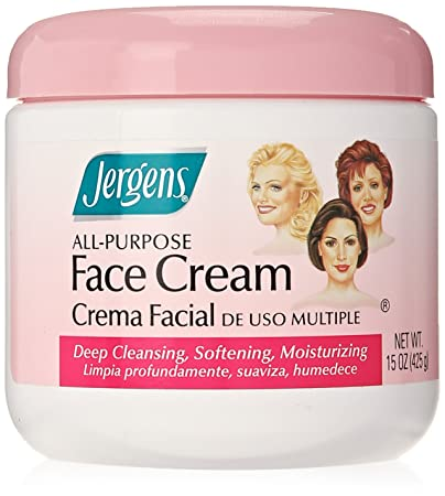 jergens face cream reviews
