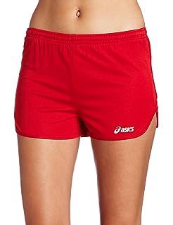 Amazon.com : ASICS Women's Interval 1/2 Split Short : Running ...