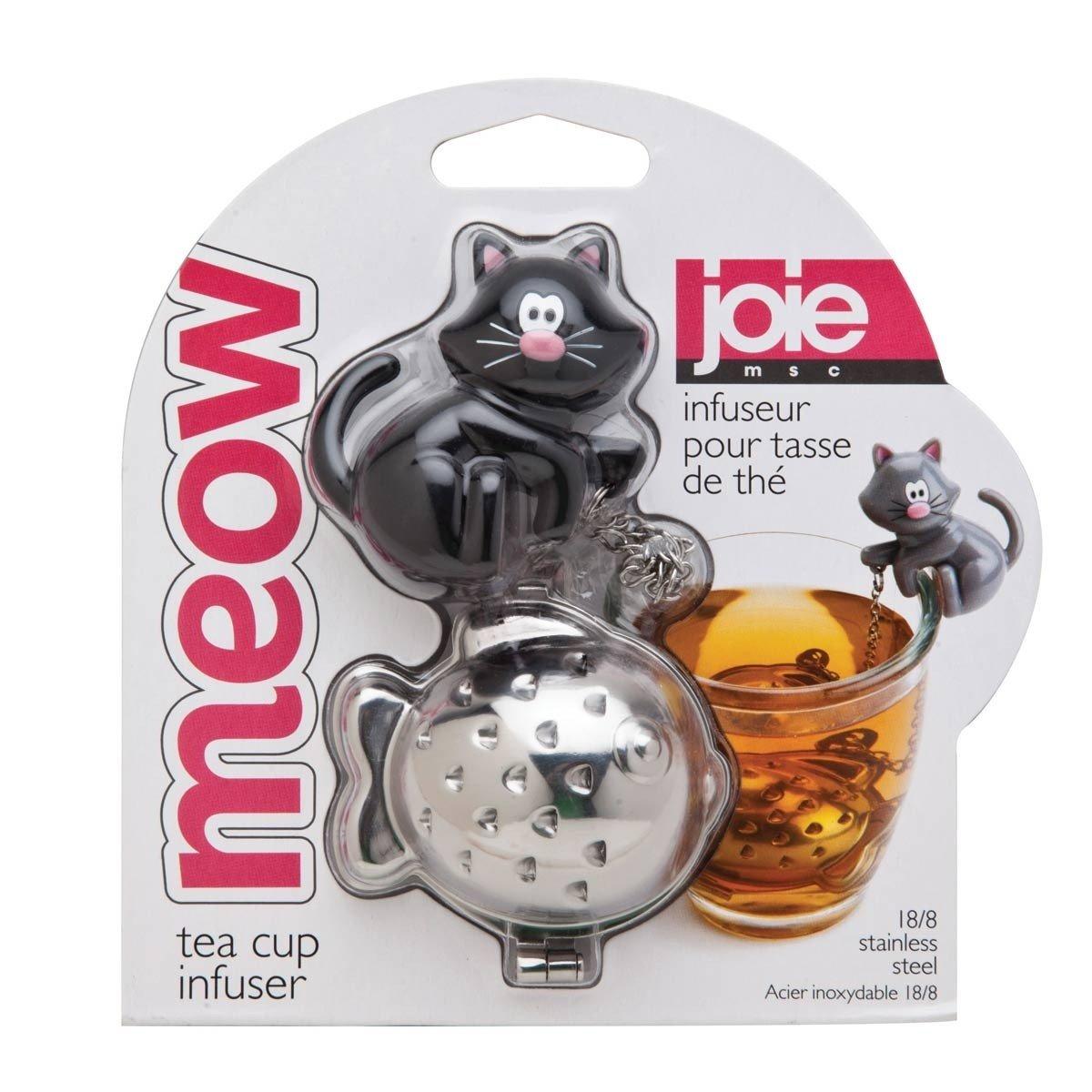 Meow Tea Cup Infuser - Black