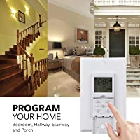 BN-LINK 7 Day Programmable In-Wall Timer Switch Deals
