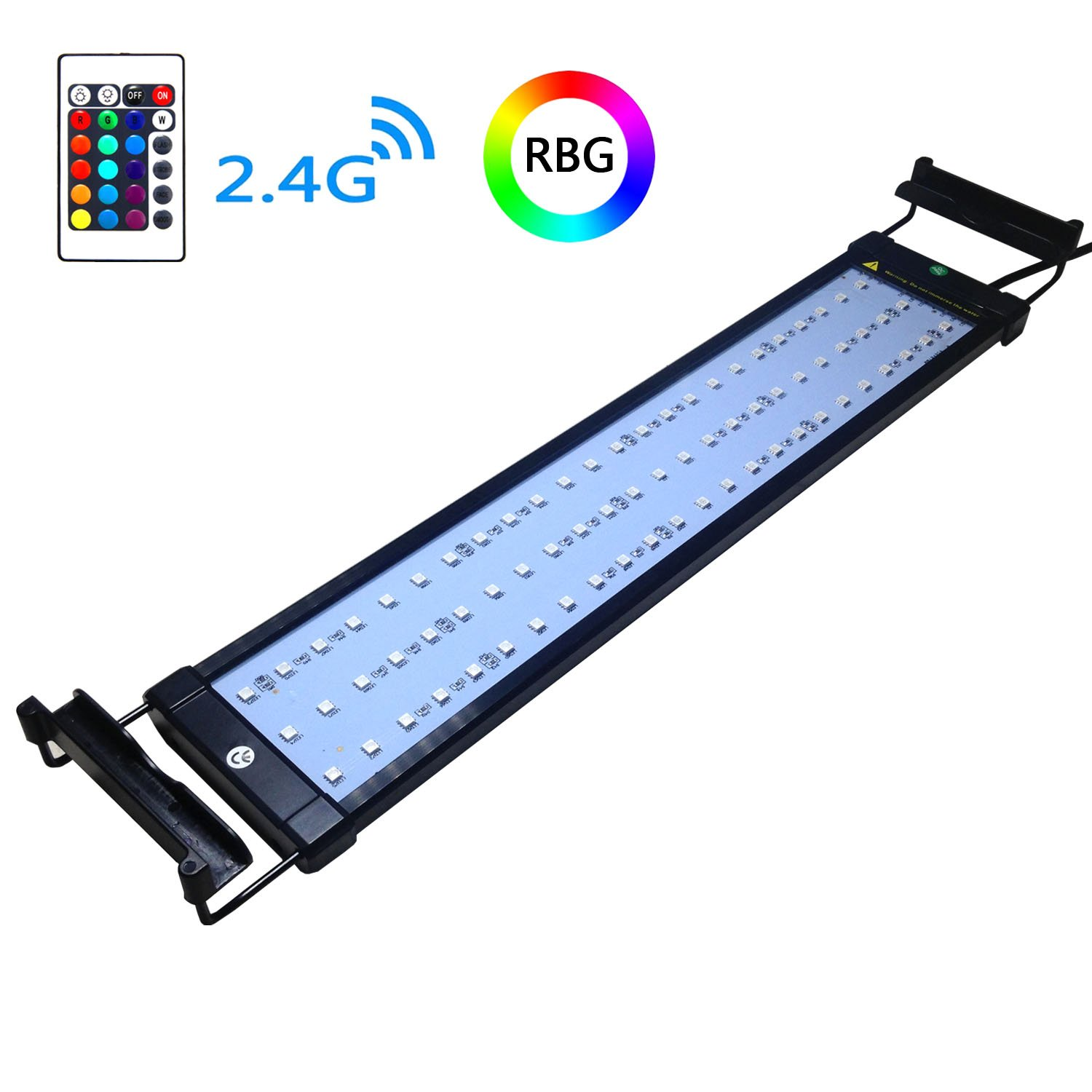 Best Rated In Aquarium Lights Helpful Customer Reviews The Switch Is Closed And Light Bulb Up What Causes Coodia Hood Lighting Color Changing Remote Controlled Dimmable Rgbw Led For Fish