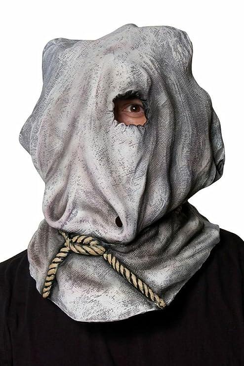 Amazon.com: Morbid Enterprises Jason Sack Mask, Grey, One Size ...