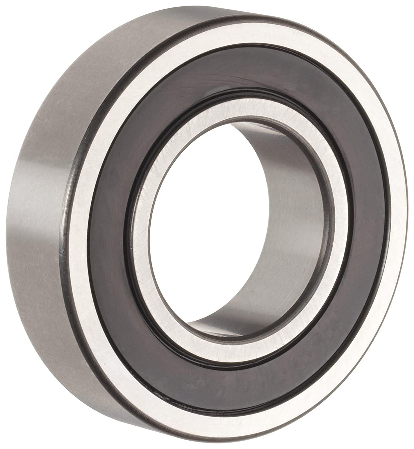 The General 1607 2RS Extra Light Inch Series Ball Bearing, Double Sealed, No Snap Ring, Inch, 7/16' ID, 29/32' OD, 5/16' Width, Max RPM, 291 lbs Static Load Capacity, 607 lbs Dynamic Load Capacity 7/16 ID 29/32 OD 5/16 Width