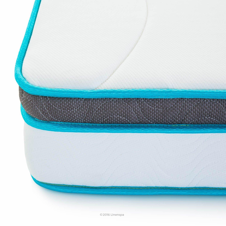LinenSpa 8'' Memory Foam and Innerspring Hybrid Mattress, Twin XL by Linenspa (Image #7)