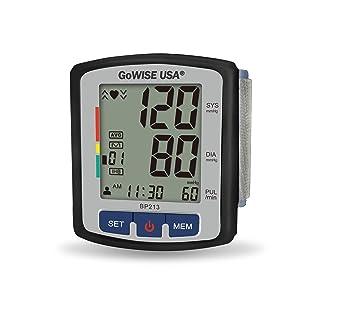 Amazon.com: GoWISE USA monitor digital de tensiómetro para ...