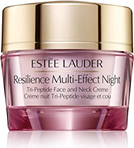 Estee Lauder Resilience Multi-Effect Night Tri-Peptide Face and Neck Creme, 1 oz / 30 ml, Full Size