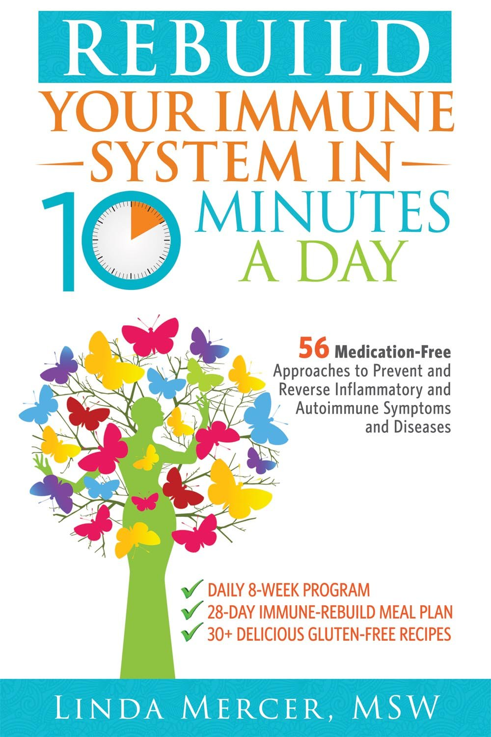 Rebuild Your Immune System in 10 Minutes a Day: 56 Medication-Free  Approaches to Prevent and Reverse Inflammatory and Autoimmune Symptoms and  Diseases: ...