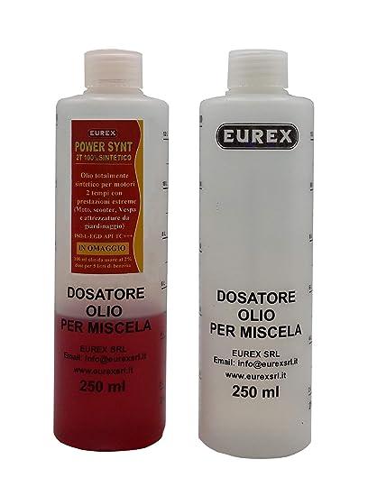 Amazon.es: NO 2 medidor dosificador para aceite mezcla de 1% A 6 ...
