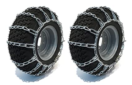 Amazon Com New Pair 2 Link Tire Chains 20x10 00x8 For John Deere