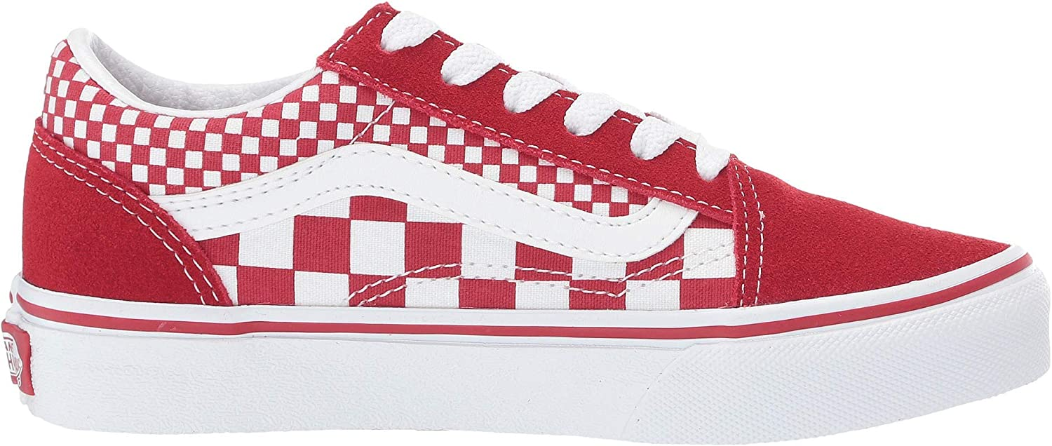 Vans Sk8-hi Suede Vd5i6bt, Baskets Mode Homme Carreaux Rouges Et Blancs