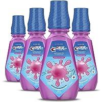 Crest Kid's Anticavity Fluoride Rinse, Bubblegum Rush, Pack of 4