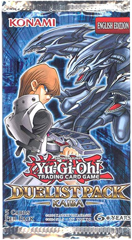 Toy YuGiOh Duelist Pack Yugi /& Kaiba SE Special Edition Pack 6 Booster Packs
