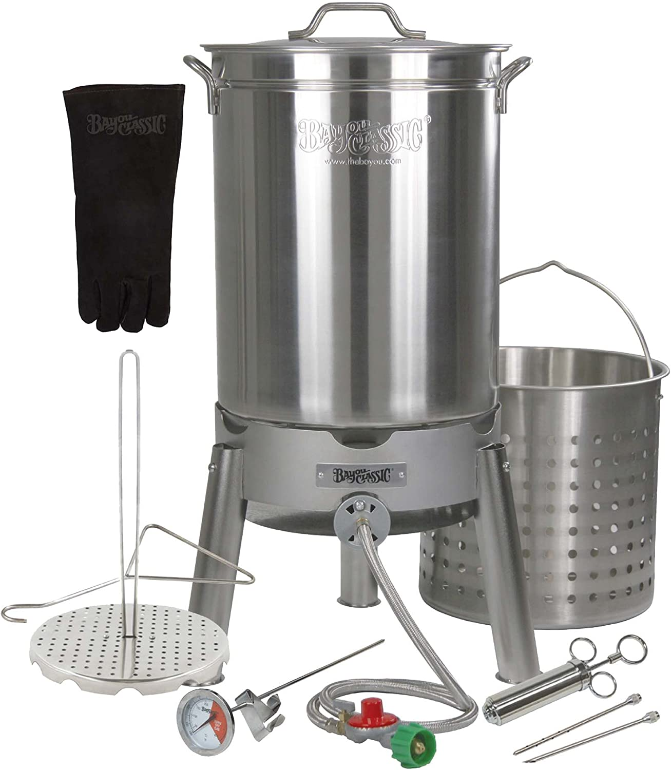 Enterprises Turkey Deep Fryer Oversized 44 Quart