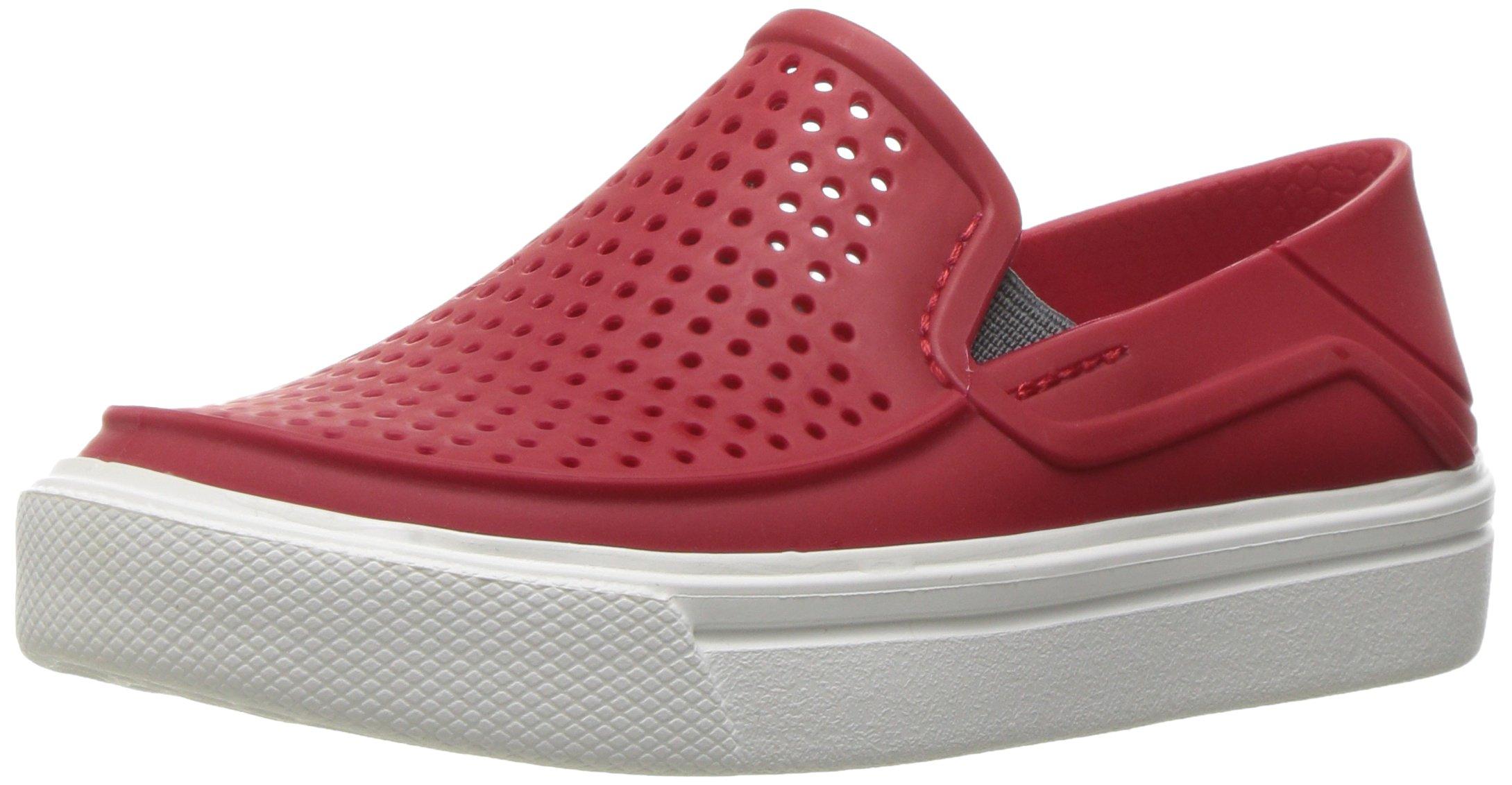 Crocs Kids' Citilane Roka K Flat, Pepper, 7 M US Toddler