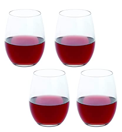 c617f2528fc Image Unavailable. Image not available for. Color: Dartington Crystal Wine  Plus Stemless Red Wine Glass ...