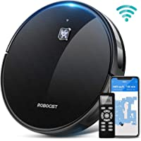 Robocist 850 1600Pa Max Strong Suction Smart Robot Vacuum Cleaner, Works with Alexa