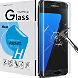 Samsung Galaxy S7 Edge Tempered Glass Screen Protector,Yica Ultra Thin 0.25mm Scratch Resistant, Full Coverage, Ultra HD Clear, Anti-Scratch, Bubble Free