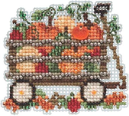 CHOOSE ONE OR ALL! MILL HILL Counted Beaded Cross Stitch Kit AUTUMN HARVEST