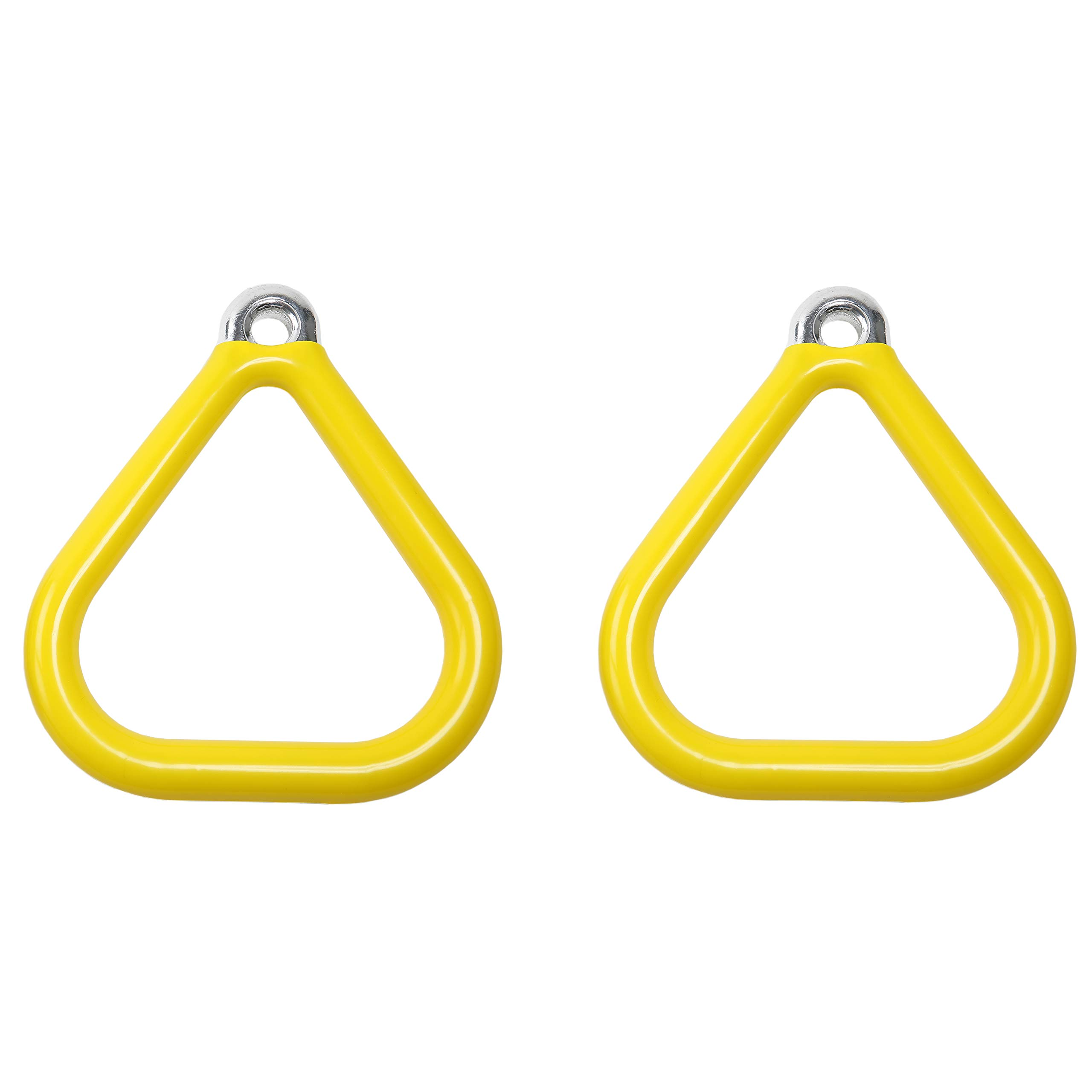 Gorilla Playsets Accessories Trapeze Rings in Yellow - Set of 2 by Gorilla Playsets