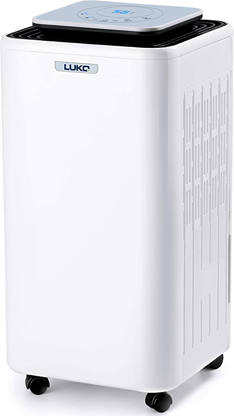 Amazon Com Luko Up To 1600sq Ft Purifi Er Dehumidifiers For Basements With Drain Hose Drying Home Moisture To 40 45db Quiet Dehumidifiers For Bedroom Auto Defrost With 68oz Water Tank 2 Side