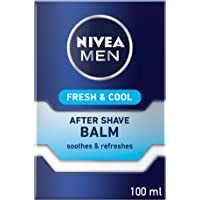 NIVEA MEN Fresh & Cool After Shave Balm, Mint Extracts, 100ml