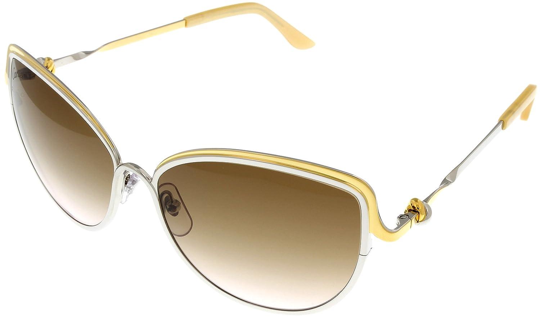 67e1eae8492 Cartier Trinity de Cartier Sunglasses Cat Eye Womens ESW00083  Amazon.ca   Clothing   Accessories