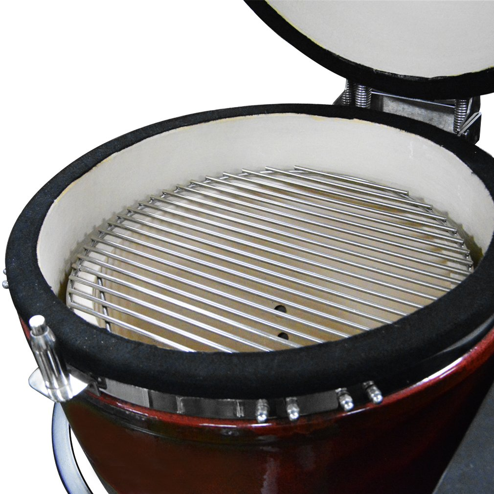 onlyfire Barbecue Stainless Steel Grid Cooking Grate Fits Kamado