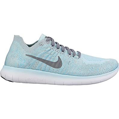 5d8916228c Amazon.com | NIKE Free Rn Flyknit 2017 (Gs) Girls Running Shoes | Road  Running