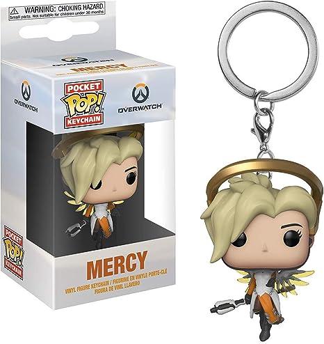 Key chain Pocket Pop Overwatch-Mercy Llavero con Anilla, Multicolor, Standard (31748)