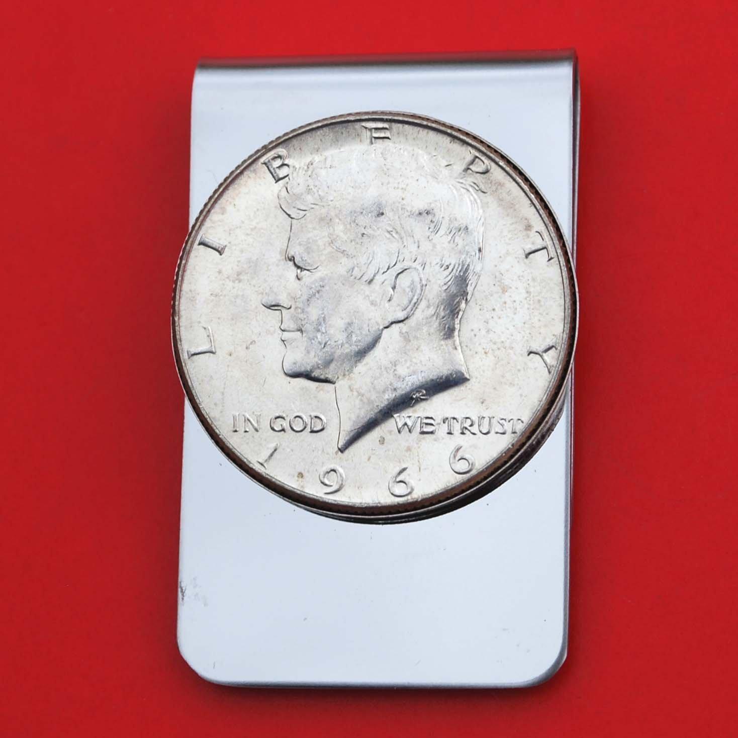 40/% Silver BU 1966 Kennedy Half Dollar