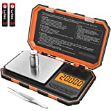 Brifit Professional Digital Mini Scale, 20g-0.001g Pocket Scale, Electronic Smart Scale with 20g Calibration Weight…